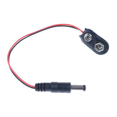 AU2.10 • Buy 1X 9V DC Battery Power Cable Plug Clip Barrel Jack Connector For Arduino DIY^RZ