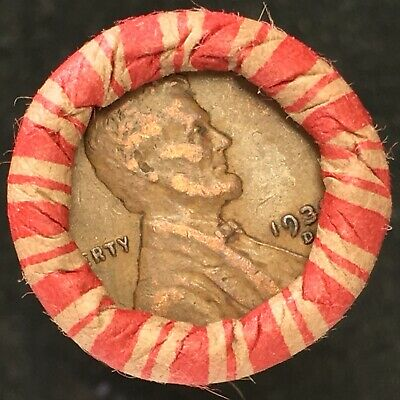 $ CDN1.52 • Buy ✯ OLD Lincoln Wheat Cent Penny Roll ✯ #ER-252