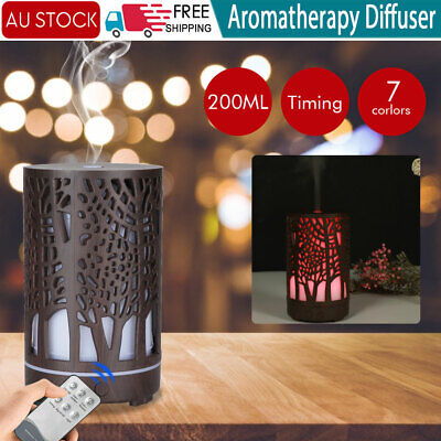 AU24.59 • Buy Ultrasonic Aroma Aromatherapy Diffuser Oil Electric Air Humidifier Essential LED
