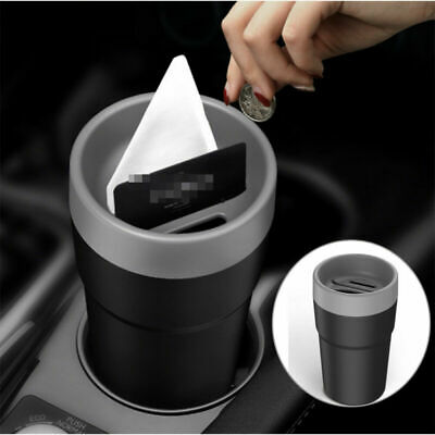 £6.99 • Buy 1x Car Coin Case Organizer Storage Box Card Money Holder Cup Car Accessories NEW