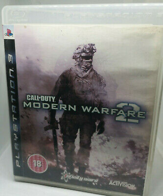 Call Of Duty Modern Warfare 2 (PlayStation 3) PS3 Tested & Complete ☆ FREE FAST  • 3.47£