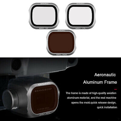 AU26.73 • Buy Filters Compatible With DJI MAVIC 2 Pro Drone Camera UV+CPL+ND8
