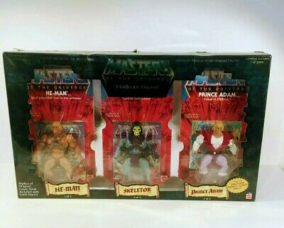 $399.99 • Buy Masters Of The Universe 2001 Commemorative 5-piece Slot Set Skeletor He-Man...