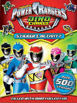 £4.95 • Buy NEW POWER RANGERS  DINO CHARGE  Over 500 STICKERS And ACTIVITY STICKER