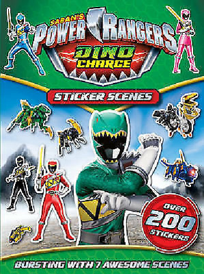 £3.95 • Buy NEW POWER RANGERS DINO CHARGE  STICKER SCENES - 200 Stickers