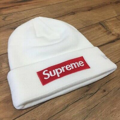 $ CDN45.95 • Buy Supreme Beanie White Box Logo Brand New Unisex Beanie Hat