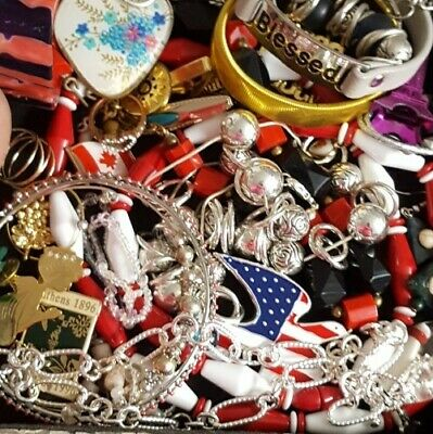 $ CDN30.24 • Buy Vintage Now Unsearched Untested Junk Drawer Jewelry Lot All Wear Estate L909
