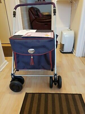 £140 • Buy Sholley Shopping Trolley With A Seat,  Large Capacity Bag, Adjustable Handle