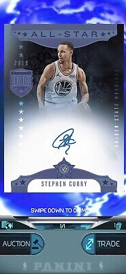 $12000 • Buy DIGITAL NFT DUNK PANINI 2019 EMINENCE Steph Curry Rare Top Shot 1/1