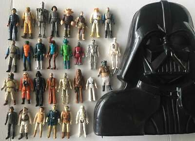 $ CDN424.59 • Buy 30 Star Wars ESB ROTJ 80's Mixed Old Collection Vintage Action Figure Toy Lot