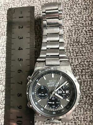 $ CDN121.40 • Buy Men's Vintage Seiko 100 Chronograph Watch For Repair Or Spares Untested