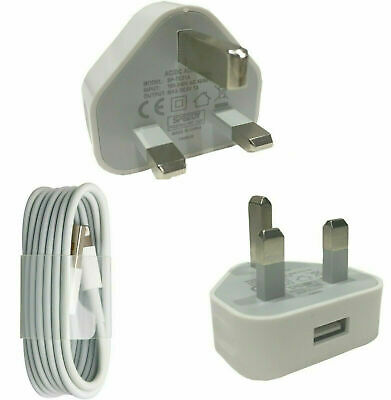 AU11.77 • Buy Genuine IPhone Charger Plug USB Sync Cable For Apple 5 6 7 8 X XR XS Plus CE