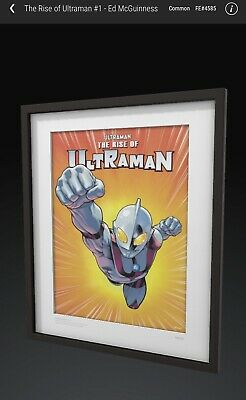 $125 • Buy The Rise Of Ultraman #1-  Ed McGuinness VeVe NFT