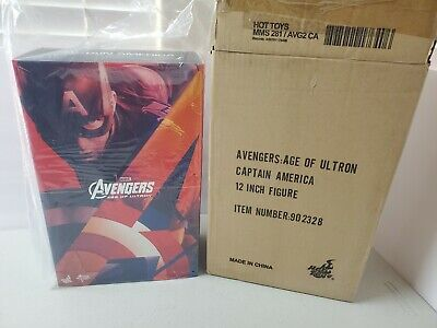 $ CDN604.59 • Buy Hot Toys Avengers Age Of Ultron Captain America MMS 281 1/6th Scale Figure