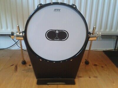 AU258.49 • Buy ATV 13  Electronic Bass Drum Pad Over £350 New, Upgrade For Roland Yamaha Alesis