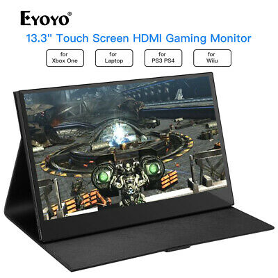 £132.12 • Buy 13.3  Inch 10 Point Touch Screen Gaming Monitor For PS3 PS4 Xbox One Nintendo