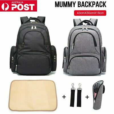 AU17.29 • Buy Multifunctional Baby Diaper Nappy Backpack Mummy Maternity Changing Bag