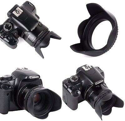 AU10.34 • Buy NEW Pro Hard Lens Hood With Collar Clamp For Sony HDR-CX675