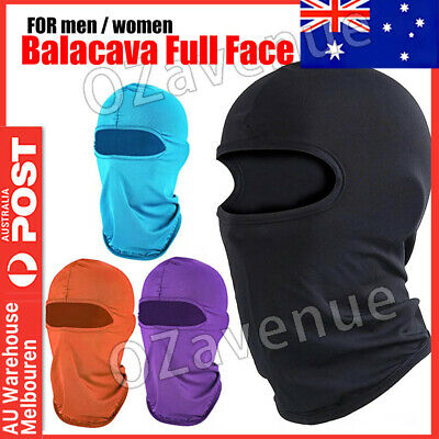 AU8.85 • Buy Ski Motorcycle Cycling Balaclava Full Face Mask Winter Scarf Windproof Outdoor