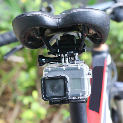 AU14.69 • Buy For GoPro7 Hero7 6 5 4 Bicycle Saddle Durable Seat Lock Camera Accessories Mount