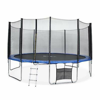 £419 • Buy 16ft Trampoline With Safety Net & Accessories Kit - 3 Colours - PRO Quality EU