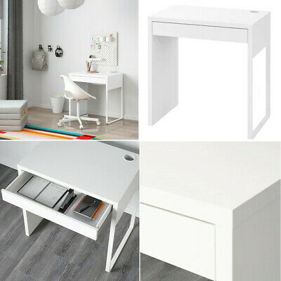 £69.99 • Buy Ikea Micke Table Desk WorkStation Furniture For Home Office Computer White 73x50