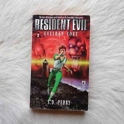 AU49 • Buy RESIDENT EVIL #2 Caliban Cove S.D. Perry 1998 Fantasy Horror Thriller ZOMBIES PB