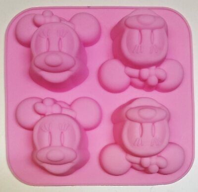 £5.95 • Buy Silicone Minnie Mouse Cupcake Muffin Mold Chocolate Jelly Cup Cake Pan Tin Bakin