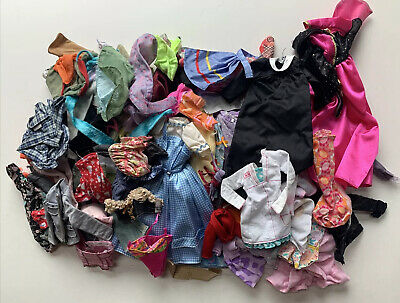 $ CDN18.08 • Buy Huge Lot Of Vintage Doll Clothing Appears To Fit Barbie Sized Dolls