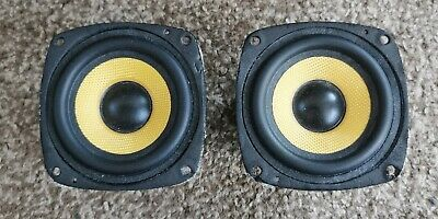 £10 • Buy Pair Of Cambridge Soundworks Shielded Mini Woofers 3  Speakers Drivers