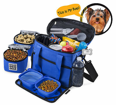 $ CDN78.46 • Buy Mobile Dog Gear Week Away Tote Dog Travel Bag For Small Dogs Blue