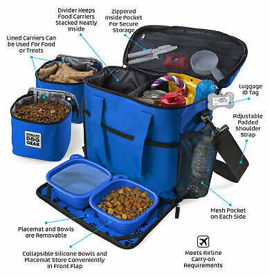 $ CDN84.51 • Buy Mobile Dog Gear Week Away Tote Dog Travel Bag For Med And Large Dogs Royal Blue