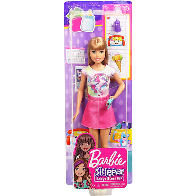 Barbie Skipper Babysitters Including Doll And Accessories FXG91 • 13.99£