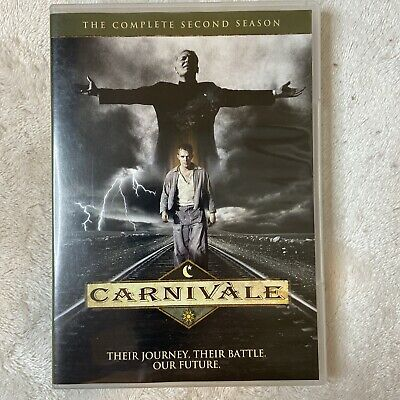 Carnivale - The Complete Second Season 2 (DVD, 2014, 4-Disc Set) HBO Series • 17.67£