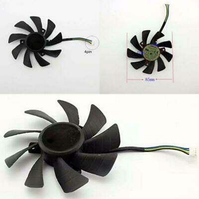 AU6.19 • Buy Graphics Cards Cooling Fans T129215SH 4Pin For GeForce GTX 1060 Mini 3GB ITX.