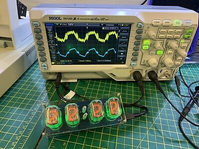 £125 • Buy Nixie Clock Assembled And Tested In The UK, UK Stock