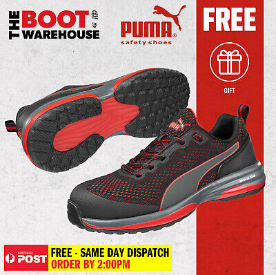 AU139.95 • Buy Puma SPEED 644497 Men's And Women's Light Weight Metal Free Safety Shoe / Jogger