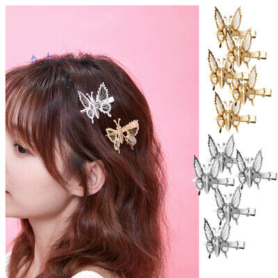 $ CDN9.99 • Buy Party Wedding Supplies Moving Butterfly Hair Accessories Butterfly Hair Clip