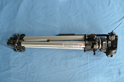 AU130 • Buy Manfrotto ART 190 Tripod  # 190/1970 With 128RC Fluid Head. Used. Good Condition