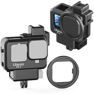 $ CDN19.59 • Buy Ulanzi G9-4 Vlog Cage Protective Housing Case Cold Shoe For GoPro HERO 9 8 CAM