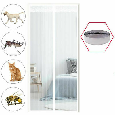 £17.99 • Buy Magic Curtain Door Mesh Magnetic Fastening Mosquito Fly Bug Insect Net Screen