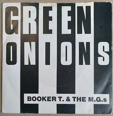 Booker T.And The M.G.s Green Onions 7  Single 1979 VG Unplayed Stock Copy  • 6£