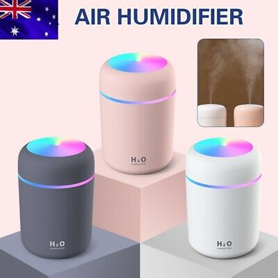 AU16.99 • Buy H2O Aromatherapy Ultrasonic Diffuser Air Humidifier Home Car Purifier Led Light