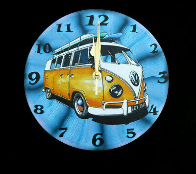 £13 • Buy Vw Camper Van  Artwork  Wall Clock Nice Gift