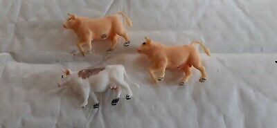 £1 • Buy Hong Kong Plastic Toy Farm Animals, Cattle. 00 Scale. Vintage 1970's