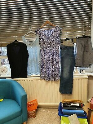 £20 • Buy Maternity Clothes Summer Bundle Pre-Loved Size 18