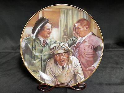 "£17.75 • Buy Franklin Mint Collectors Plates ""The Three Stooges"" Pop Art"