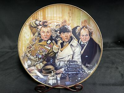 "£17.75 • Buy Franklin Mint Collectors Plates ""The Three Stooges"" The Three Stooges"
