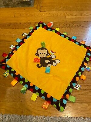 £7.67 • Buy Mary Meyer Taggies Plush Blanket Baby Toys Brown Polka Dots Lovey
