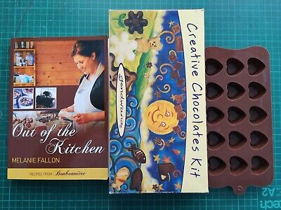 Chocolate Making Kit, Moulds And A Book, 160 Pages Book, Job Lot • 3.50£